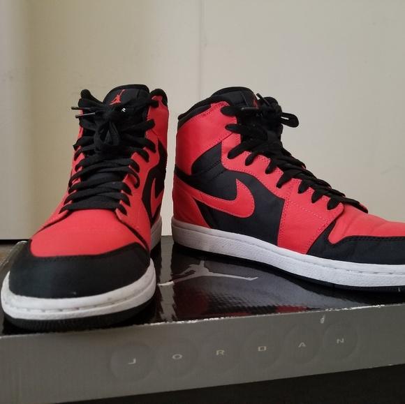 a5c3a633d8 Jordan Shoes   Air 1 High Max Orange   Poshmark